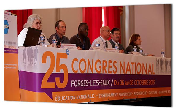congrès du SNPTES
