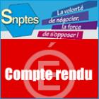 Le SNPTES reçu longuement par le chef du Service des Technologies et des Systèmes d'Informations (DNE-B)