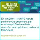 Concours externes et examens professionnalisés réservés ITA 2014 - CNRS