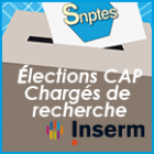 Renouvellement des Commissions administratives paritaires (CAP) des Chargés de Recherche à l' Inserm